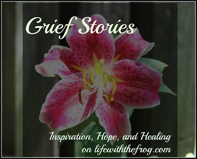 Grief Stories @lifewiththefrog @meredithspidel