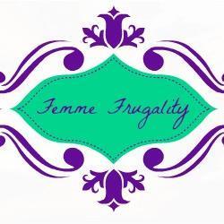 Femme Frugality button @meredithspidel @femmefrugality