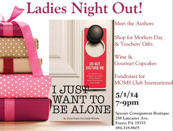 Ladies Night Out @meredithspidel @sproutsconsignment 5/1/14