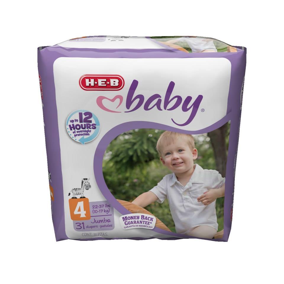 H-E-B Diapers