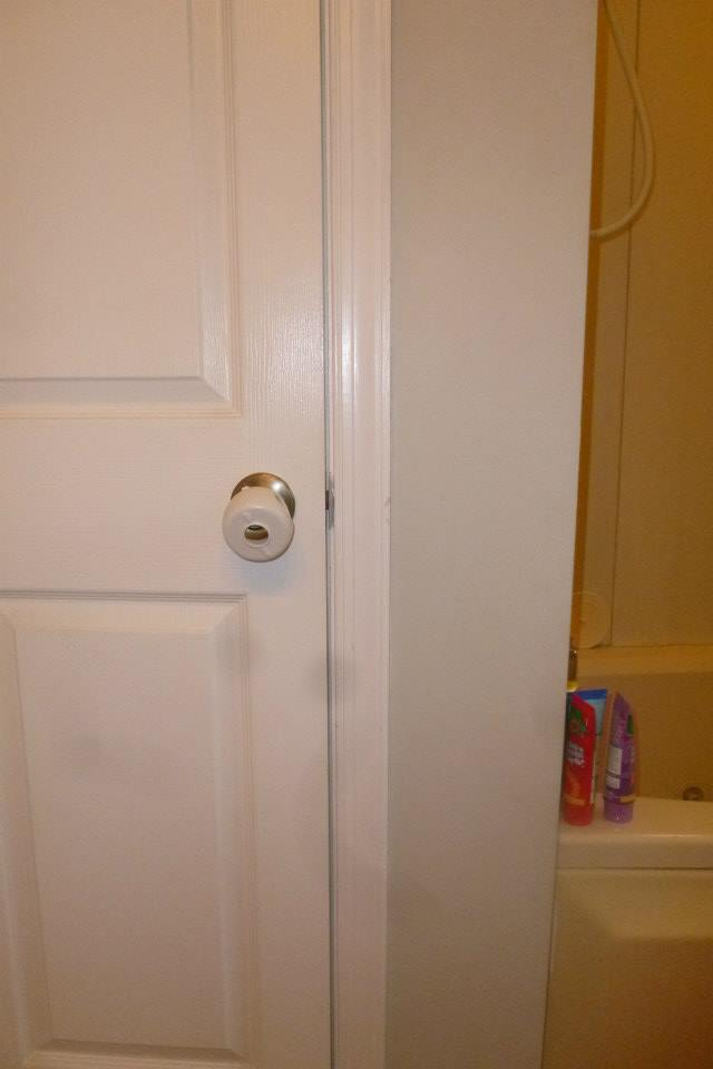 Clearly, this doorknob safety situation isn't cutting it when it comes to nail polish appeal