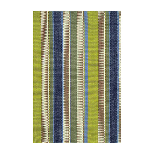 I loved the greens and blues in these stripes.