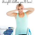 Laundry piled up endlessly? Put down that iron! Here's the one simple iron-free trick to smooth, wrinkle-free clothes you'll love! Housework made easy!