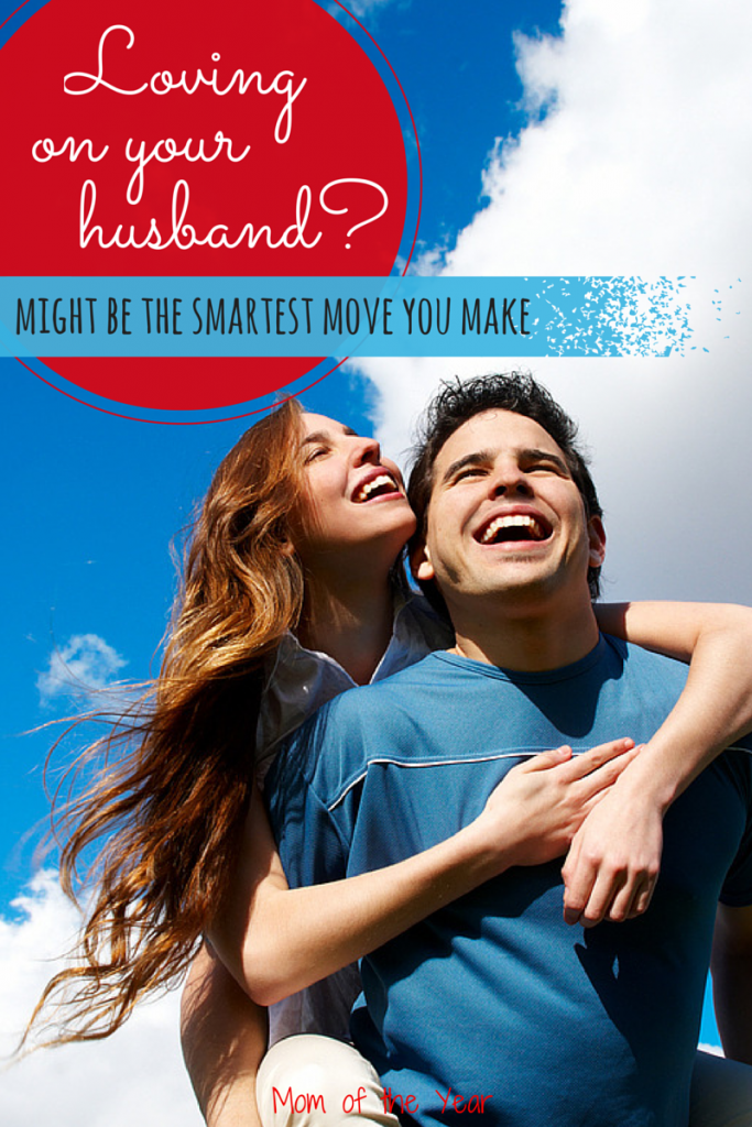 Marriage is NOT easy, but loving on your husband despite all the stuff of life is your best bet for a healthy relationship--and a lot more smiles and laughs through all the stuff life throws your way!