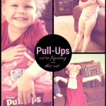 Pull-Ups to the rescue! Wish we didn't need them, but we so, so do. And they're just so darn cute! Until we can ace potty training, I'm loving these!