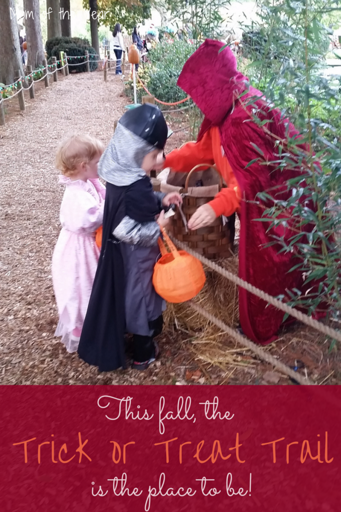 The Trick or Treat Trail was the perfect way for some safe trick-or-treating fun with a lot at some of the coolest costumes themes around!