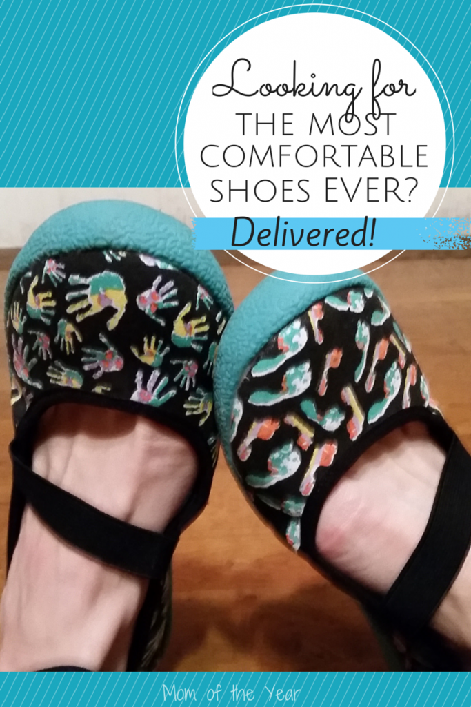 Being a mom is hard work--you need a shoe that can keep up with it all AND be gentle on your feet.  I love my Choozes!
