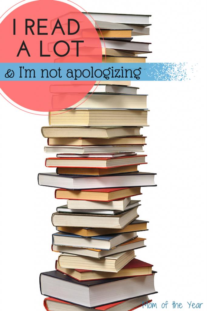 I read a lot @meredithspidel #books