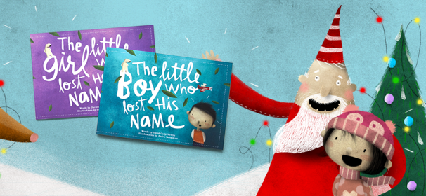 The personalized childrens books make such a creative and sweet gift! Allows kids to focus on spelling skills and name recognition while having a lot of fun along the way!
