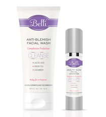This skin care line is phenomenal! Care for yourself and take charge of your beauty regimen with Belli!