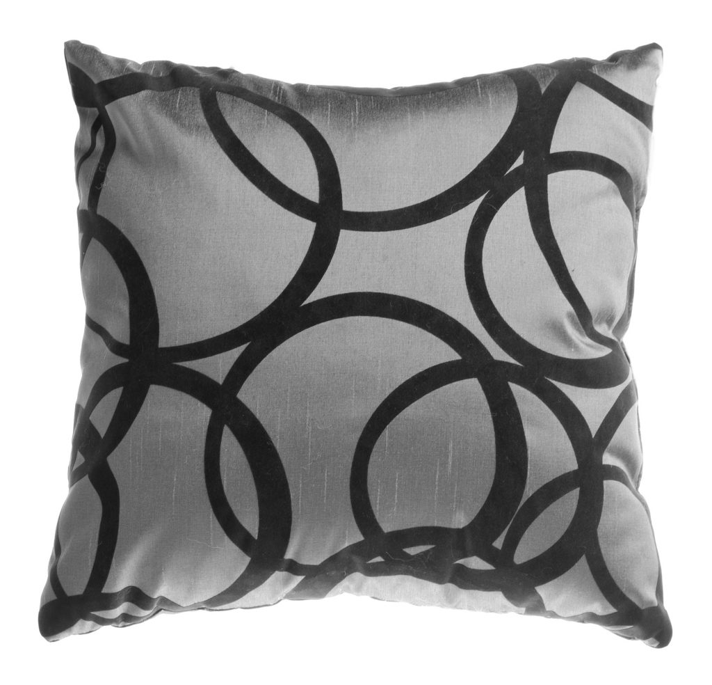 Eye-catching printed accent throw pillow.  Spruce up any space!