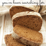 Bread! We all love it--finding a recipe that is healthy and delicious can be tricky. I am crushing on this new product! Check it out and enjoy!