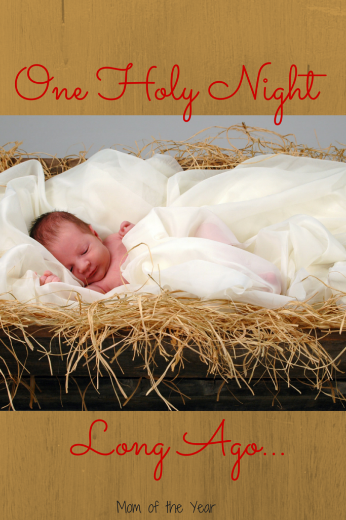 One Holy Night long ago, the miracle of Jesus appeared on this earth. God's greatest gift to the world; the first Christmas, perfect and glorious.
