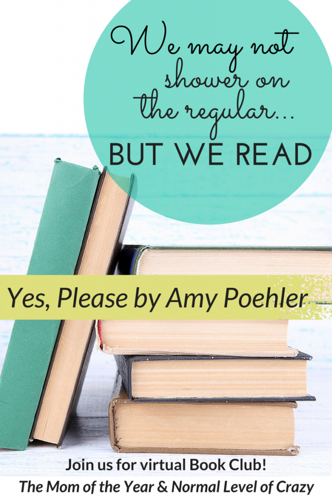 Leaving the house to attend book club in person can be a feat of God. No need to tackle that business with this online book club. Join us here as we chat about Amy Poehler's new book!