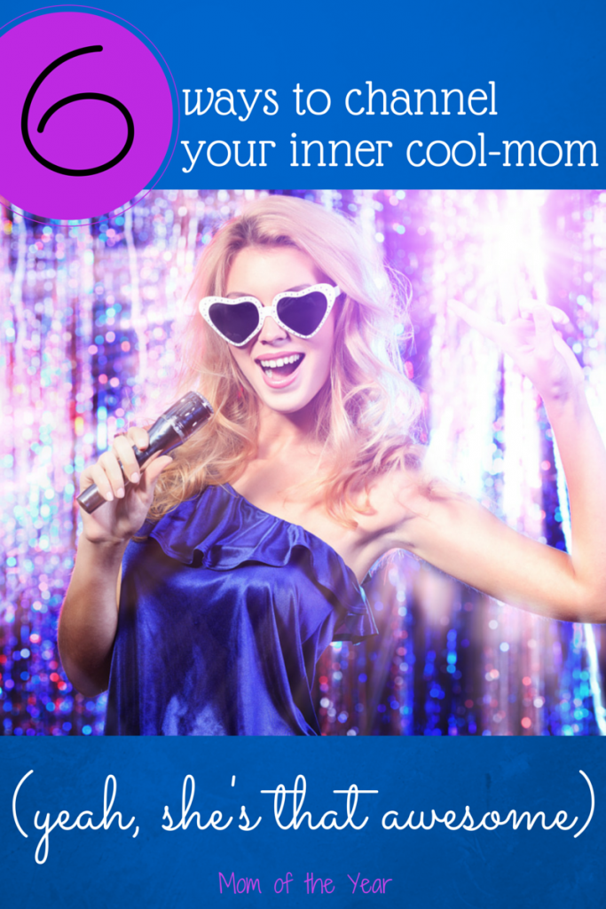 Buried in the day-to-day of motherhood? Finding your inner cool mom isn't that hard, and bonus? It's A LOT of fun ;) Check out these tips to get your groove going--stuff you haven't done in ages, but it works, trust me!