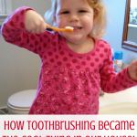 Getting your kids to brush their teeth can be a battle, but it is one that matters! Go here to get encouragement in your oral health mission and pick up a few tricks to make it happen smoothly--even make it fun!