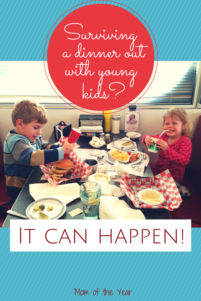 Taking young kids out for dinner always felt so very daunting to me. But...I did! Here was the trick I used and why it ended up being not only survivable, but FUN! You can do it too!