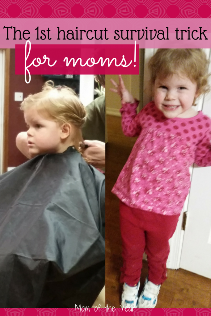 I was so, so nervous for my daughter's first haircut! It was an emotional growing-up rite of passage for me, but here is the trick to how I managed--and so can you! And my daughter? She was fine!