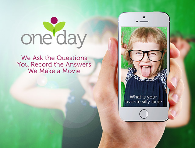 Overwhelmed by pictures and videos of your kids? This one app pulls it all together for you--all you have to do is film your cute kiddo! Go make some memories--the easy way!