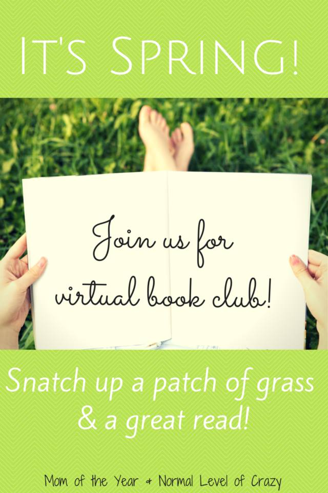 We love to read and we love to share it with you through our virtual book club! Open to anyone--and we love it if you show up in your pajamas. Get comfy, get cozy, and read along with some great finds with us! This month's pick is especially blowing us away!