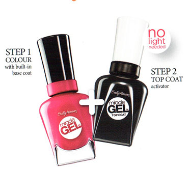 Miracle gel is a MIRACLE! This easy-peasy two-step at-home solution will leave you swooning over your gorgeous nails--check it out!