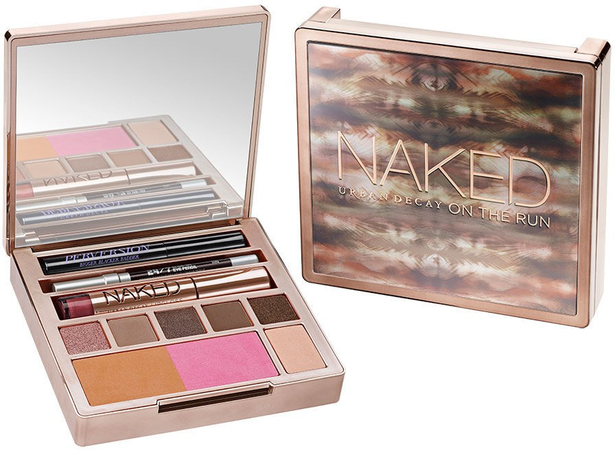 Packing up a fancy make-up bag is something so last-season. Thanks to Urban Decay's new Naked on the Run all-in-one kit, you are set. Toss it in your bag, and whatever comes your way this summer, you are ready to meet it looking your best!