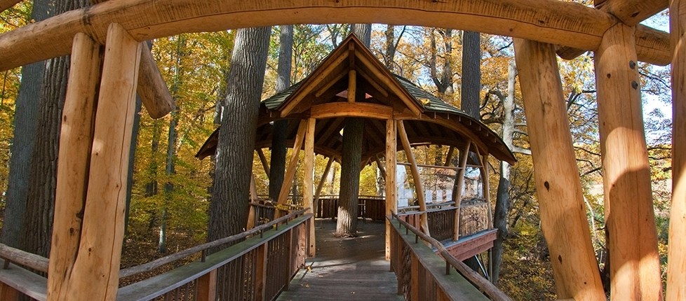 The Treehouses are a fascinating, kid-friendly attraction that leaves my kids wowed! The perfect way to explore nature and get some fresh air fun!