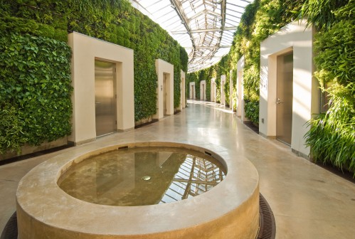 The fanciest place you could EVER potty-train trust me! These family-friendly bathrooms are the coolest--you have to check them out!
