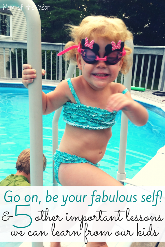 Go on, be your fabulous self! Self-expression MATTERS in this world and is too often overlooked. Kids are often WAY smarter than we are about stuff. Here are 6 solid reasons why we should trust their wisdom and here's how to do it. I love my daughter's savvy and never want to change it!