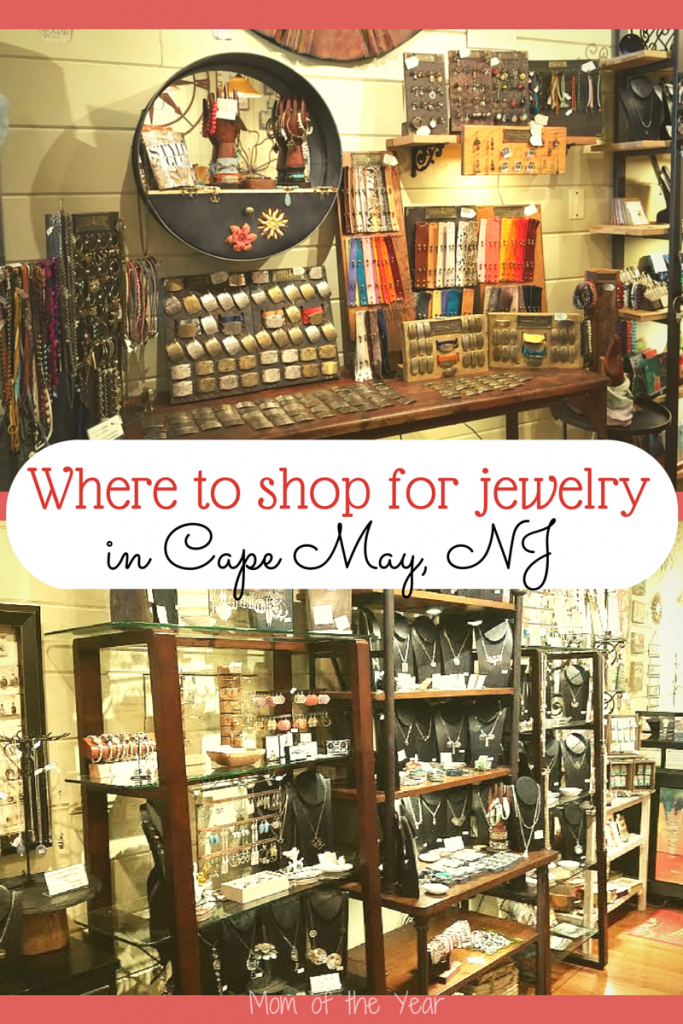Cape May, NJ is FULL of sweet, small shops, but trust me--this is the ONE that you can't miss! The selection of unique one-of-a-kind jewelry pieces is supreme. And you can even design your own bracelet cuff with the amazing brand featured in the shop--and online! Here are 4 reasons why you will go back to this shop again and again!