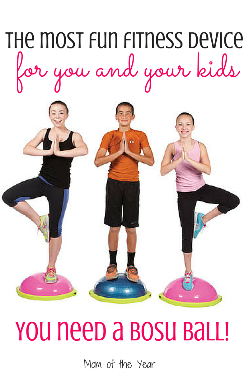 Looking for an all-in-one device to tackle cardiovascular, toning, and abdominal fitness? Meet the Bosu Ball and why I love it--and you will too! Bet you never bargained on the fun element I found...