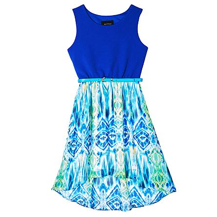 While my daughter has a zillion dresses (because she refuses to wear anything else), I love her. And seeing her face when she snagged this cute trendy dress would so be worth it!