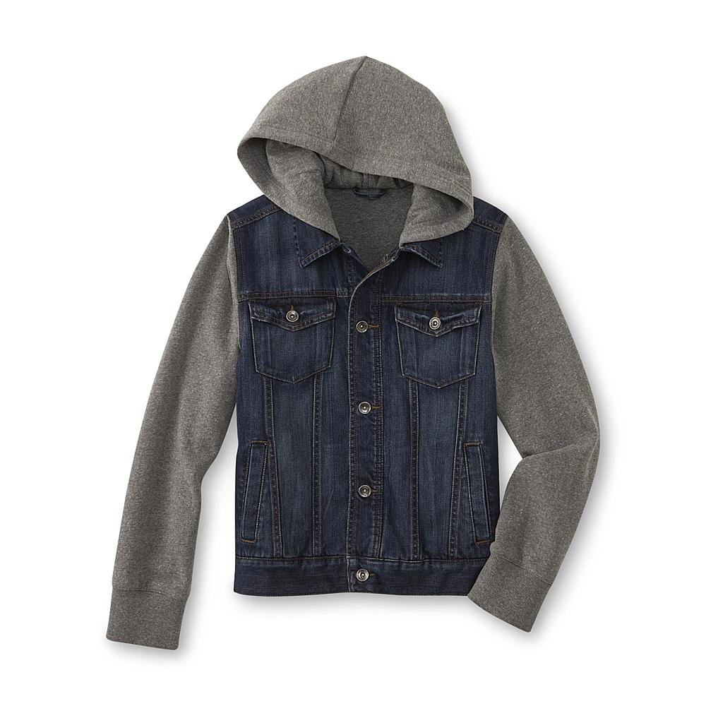 My son, in all his too-cool-to-look-at-the-camera swagger would LOVE this jacket! I would love it because it would make talking him into wearing an extra layer before leaving for school so much more appealing ;)