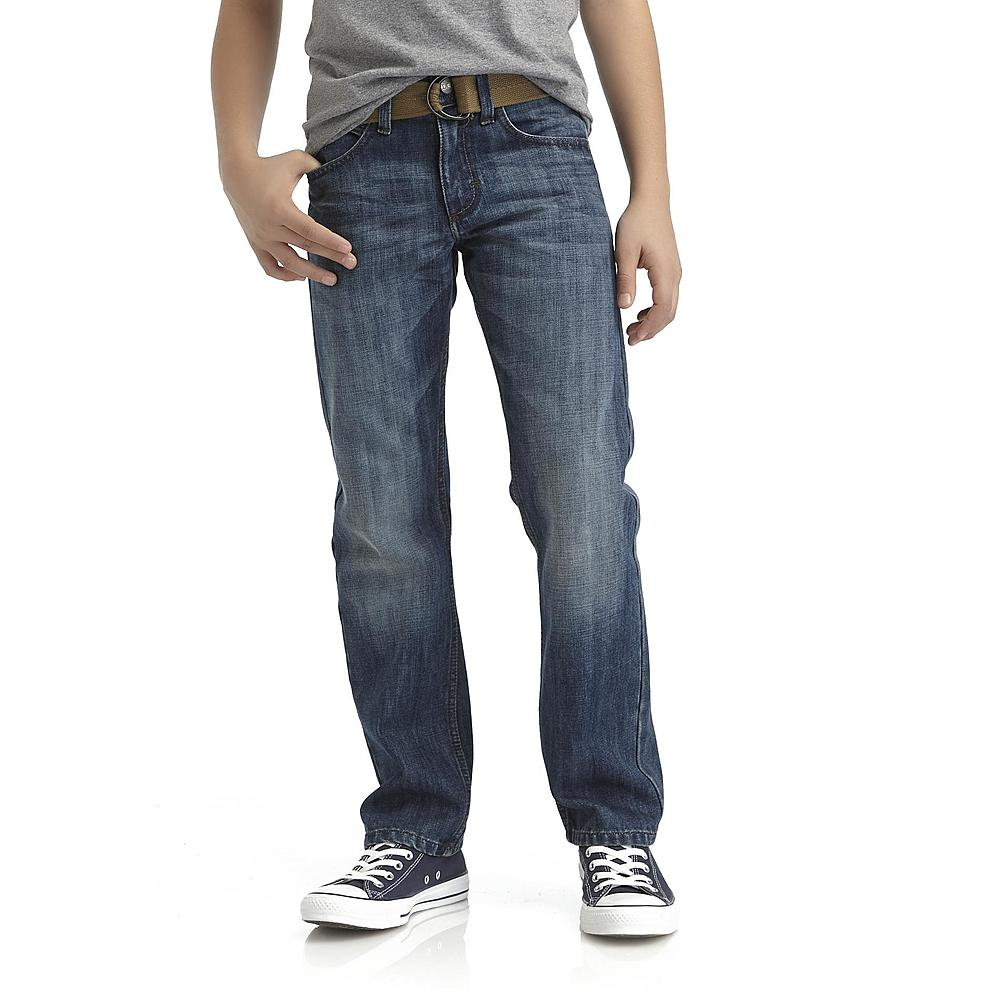 Jeans! As a new-at-this mom I am learning fast that these active boys can never have enough jeans. True story, I think they go out at night after we are asleep and roll around in the dirt just to burn holes in the knees. Grab a fashionable pair at the fraction of the price now!
