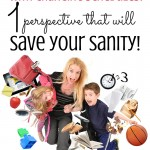 Feel like you are totally losing it over busy days and ever-changing schedules? So overwhelming, I know! I was panicking until I found this one perspective that put a spin on it all and truly saved my sanity! Check it out and start breathing easier, I promise.