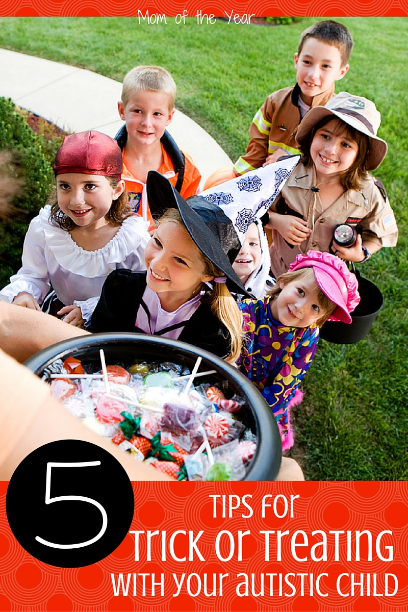 Halloween and Trick or Treat is such very fun time for kids! But if your child is autistic or has special needs, it can be a tricky event to navigate. Use these 5 smart special tips (can guarantee you've never thought of all of them!) to create spooky, special memories for the whole family!