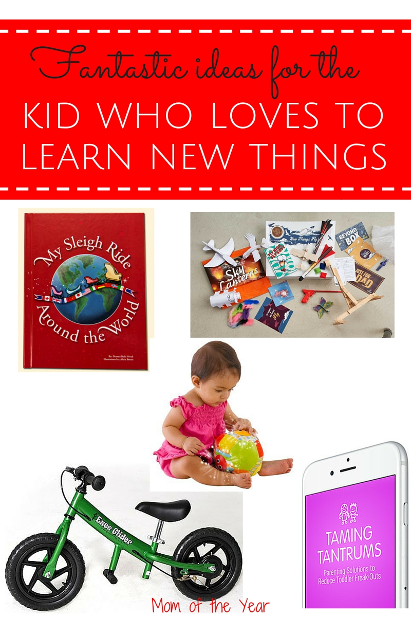 Some kids have an insatiable need to keep exploring, learning, and discovering their world. Help them do it in a fun way with these neat gift ideas! You'll have your holiday gifts for children in the bag after checking out these original ideas on the list!
