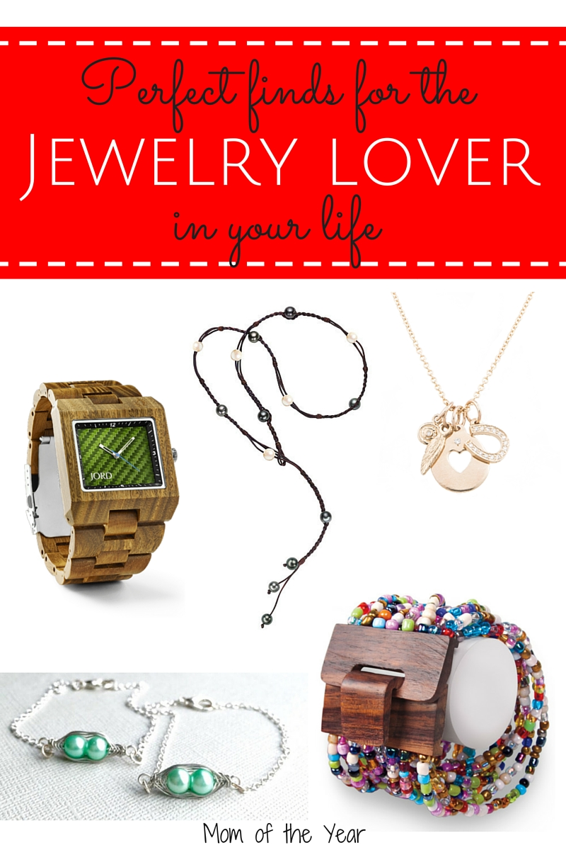 Have a jewelry lover in your life but aren't sure what to get her? These are such unique, special ideas and she be so impressed with the originality and quality!