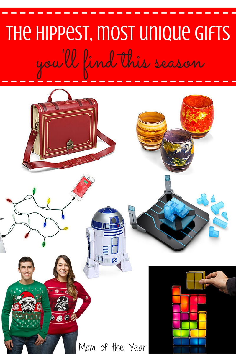 You have to check out this site! It has the hippest, most unique gifts that are just off-beat enough for the quirky people on your shopping list! Trust me, these ideas will be a hit--get the scoop here and get shopping for these one-of-a-kind presents!