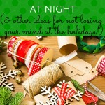 The very true story how how an emergency (sort-of) forced us to pause, take a break and laugh this Christmas season! You never know where wrapping those gifts will get you--be careful!