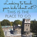 Not sure what to do on the weekends with kids? This is a fantastic idea that will share a love of culture and art in their young minds and leave you feeling like a fantastic mom for having thought of it! Kids art museum for the win!