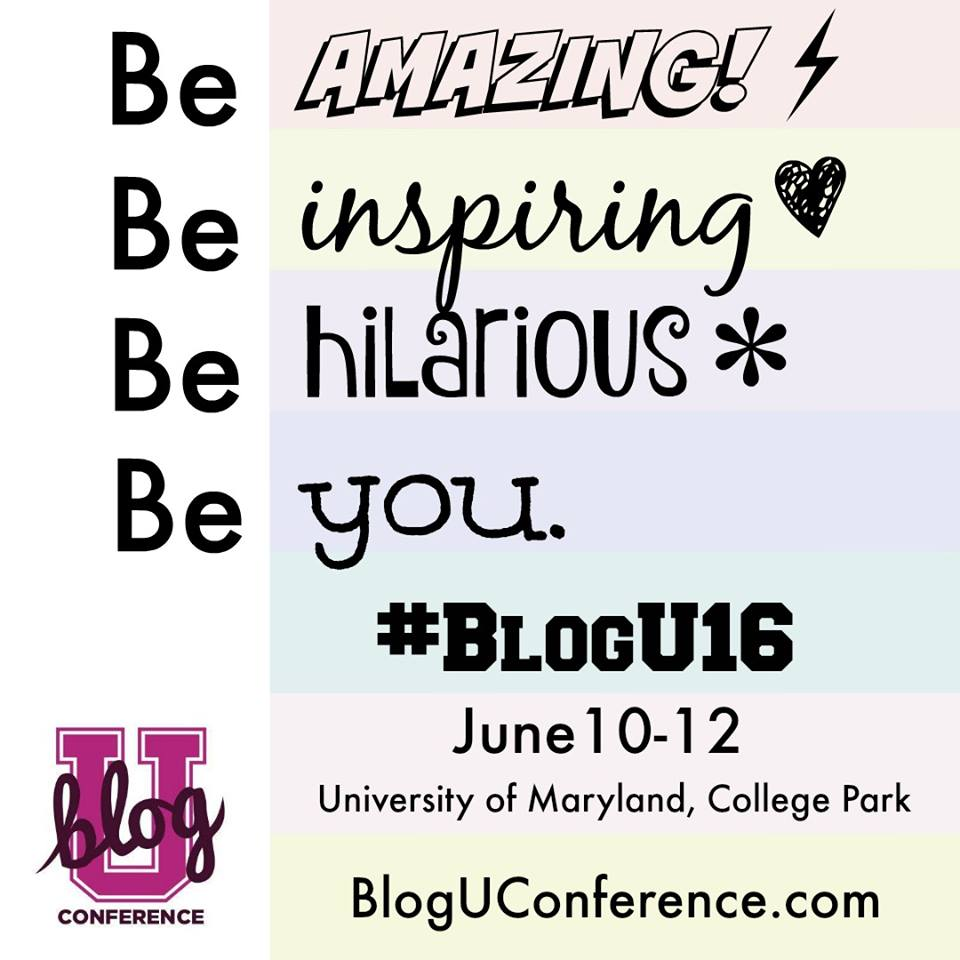 Looking to grow your blog? This conference not only has all the smart scoop you need with incredible sessions, there is loads of support, friendship and fun to be had as well! We are a friendly, welcoming group, here to help your blogging career take off! BlogU is THE place to be--and pop by here to find out how you can score your ticket for free!