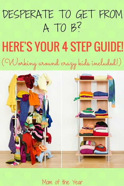 Tired of all the mess and clutter in your home? Here is a very smart how-to for not only how to declutter but for how to prevent reclutter from happening--even with kids in your home! The tips and tricks are real and surprisingly easy. Follow the 3rd step and you'll be breathing a sigh of relief in no time!
