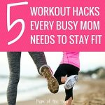 Crazy busy with those kiddos, mom? We understand! Touch down here for five easy workout hacks that will help you boost your fitness while staying sane and keeping up with the crazy. Just because you don't have time, doesn't mean you can't sneak in a quick workout! Try these genius tricks--I LOVE #3!!