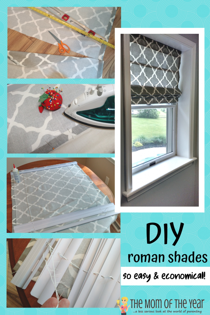 Looking for the perfect window treatment? Try these pretty, functional, and super easy DIY Roman shades. Here's the step-by-step tutorial to you need!