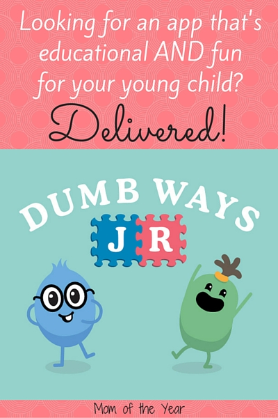 Looking for an app for your younger kids that is safe, educational AND fun? Search no more! This family-friend find from Dumb Ways JR will keep them responsibly and happily engaged whenever your next doctor's appointment hits! It's all good, mom! And you won't believe how cute the feature is that makes them giggle the most!