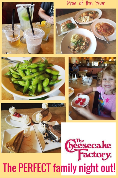 National Cheesecake Day is coming up! How will you celebrate? I've got the best idea out there, plus the inspiration for the needed break your family needs. Family time? Family dinner out? You're going to want to check out the fun new addition to the scrumptious Cheesecake Factory menu--you'll be wowed!