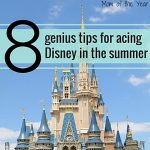 Visiting Disney in the summer? Worried if you will survive? No need! With these ten smart tips to help you stay cool and sane during the busiest months at Walt Disney World and Disneyland in the summer, you'll still have a dream vacation you'll remember for years to come. I would never have thought of some of these, but they are genius hacks--check them out!