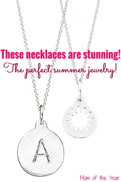 Looking for the perfect summer gift for mom or just wan a special treat for yourself? I am so wowed by these necklaces--time and again. They never break or tarnish and you get to select personalized jewelry that is a perfect match for you! Oh, and did I mention, there's a free one up for grabs here? True story! Pop over now!