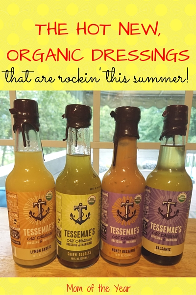 Looking for some flavor, but very interested in keeping your healthy summer foods healthy? After I found these organic salad dressings and marinades, I never looked back. They are delicious, flavorful and the perfect HEALTHY accent to whatever dish you're serving this summer. Plus, you have to check out the Green Goddess flavor--I was floored by this one!